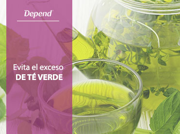 evita el exceso de te verde