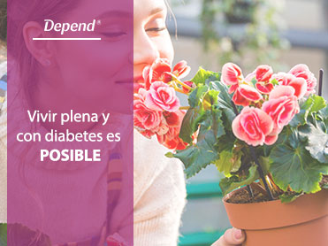 Vivir plena y con diabetes es posible